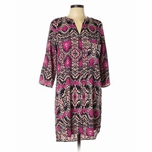 Patterned Maeve Shirtdress from Anthropologie S